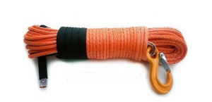 Кевларовый трос для лебедки 8мм 30м 4500-10000 lbs