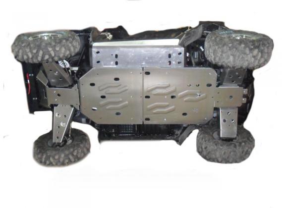 Защита днища Rival для квадроцикла Polaris Scrambler 1000 (2013+) 444.7423.1