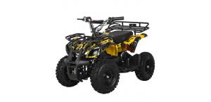 Детский Квадроцикл Profi HB-EATV 800N-10 V3 желтый камуфляж