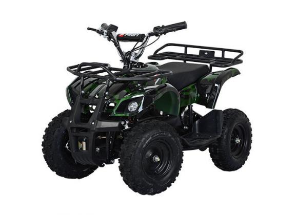 Детский Квадроцикл Profi HB-EATV 800N зеленый камуфляж