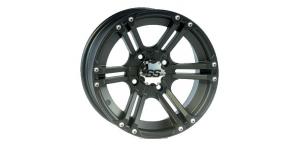 Колесный диск для квадроцикла ITP SS212 Black 12×7 5+2 4/136