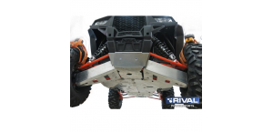 Защита днища Rival для Polaris RZR 1000 (13-15) 2444.7413.3