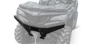 Металлическая накладка на передний бампер Rival для CFMoto X8 H.O, X10 (2018+) 444.6885.1