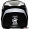 Детский мотошлем FOX YTH V1 PRIX HELMET [BLACK]