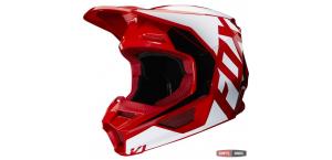Детский мотошлем FOX YTH V1 PRIX HELMET [FLAME RED]