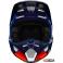 Детский мотошлем FOX YTH V1 PRIX HELMET [ORANGE BLUE]