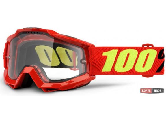 Мото очки 100% ACCURI ENDURO Goggle Saarinen - Clear Dual Lens