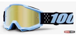 Детские мото очки 100% ACCURI Youth Goggle Taichi - Mirror Gold Lens