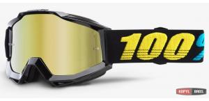 Детские мото очки 100% ACCURI Youth Goggle Virgo - Mirror Gold Lens