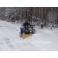 Снегоотвал для квадроцикла 150х45см с быстрым креплением