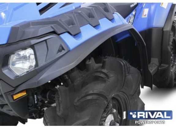 Расширители арок Rival для квадроцикла Polaris Sportsman XP 850 HighLifter (16-18) S.0034.1