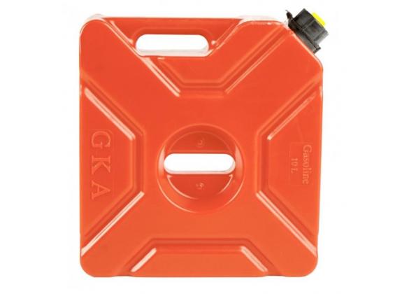Канистра GKA экспедиционная 10л, цвет красный для квадроцикла или внедорожника  GKA-CAN-10L-RED