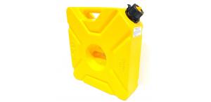 Канистра GKA экспедиционная 10л, цвет желтый для квадроцикла или внедорожника GKA-CAN-10L-YLW