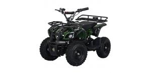 Детский Квадроцикл Profi HB-EATV 800N-10 V3 с MP3 плеером зеленый камуфляж