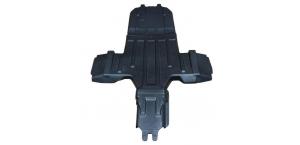 Пластиковая защита днища Panzerbox для UTV Polaris RZR 1000 XP (2013+), RZR Turbo (2016+)
