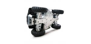 Защита днища Rival для Polaris RZR 900 XP (2011-2014) 444.7405.2