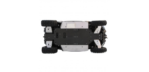 Пластиковая защита днища для CFMoto ZFORCE 600 (Z6) с алюминиевыми боками и защитой рычагов
