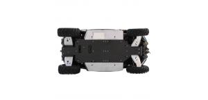 Пластиковая защита днища для CFMoto ZFORCE 600 EX (Z6 EX) с алюминиевыми боками и защитой рычагов