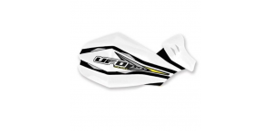 Защита рук для квадроцикла UFO Claw с креплением. Цвет белый PM01640041