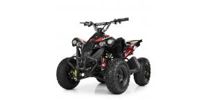 Детский квадроцикл Profi HB-EATV 1000Q-4ST V2 с MP3 Черный