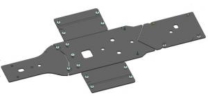 Защита днища пластиковая для CFORCE 850 и CFORCE 1000