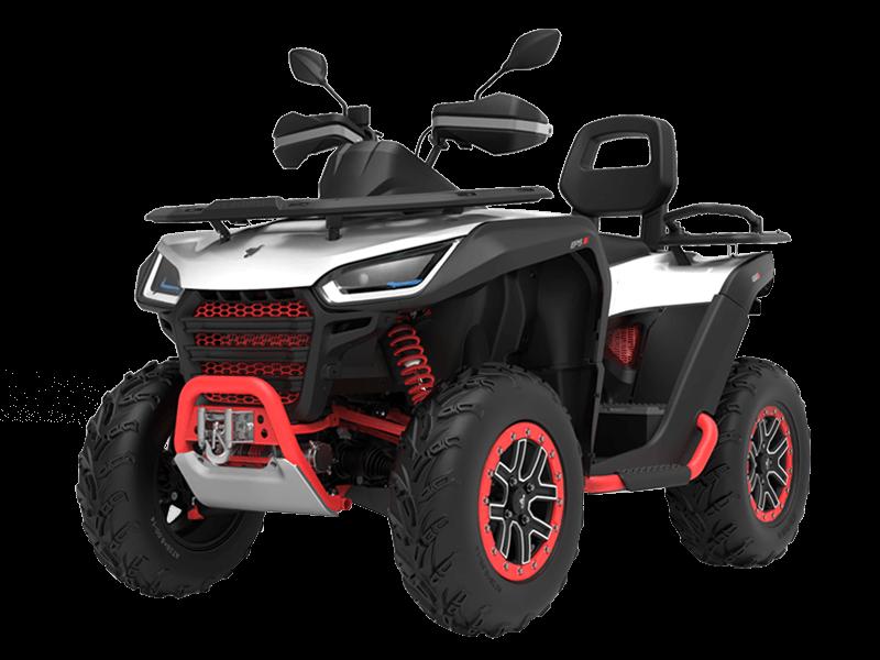 Представляем новый квадроцикл Segway Snarler 600GL 4WD