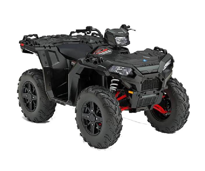 Новинка 2017 года Квадроциклы Polaris Sportsman XP 1000 Stealth Black